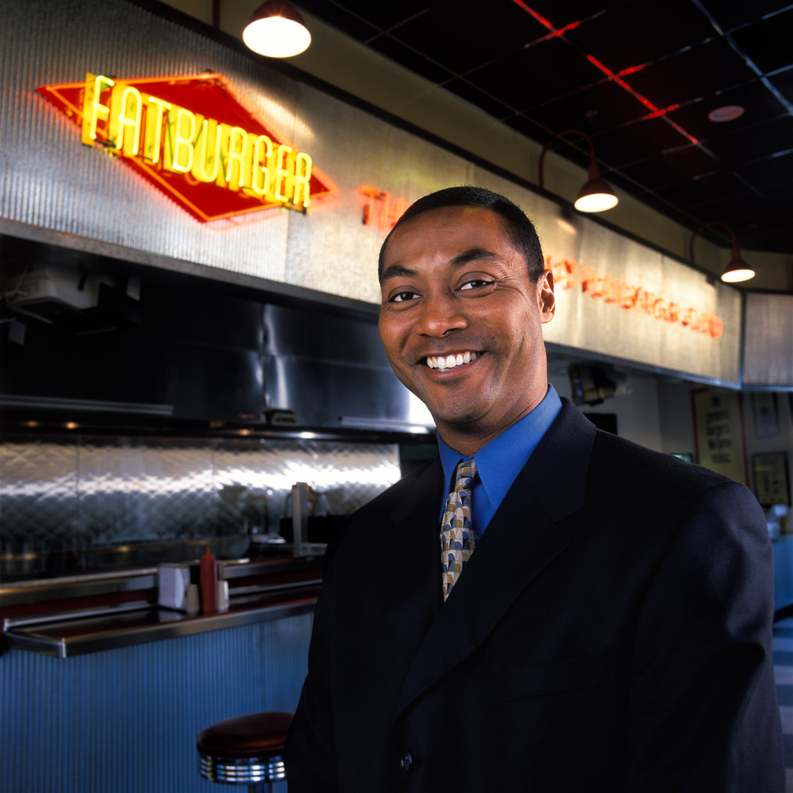Perry Johnson - FatBurger Franchise Owner