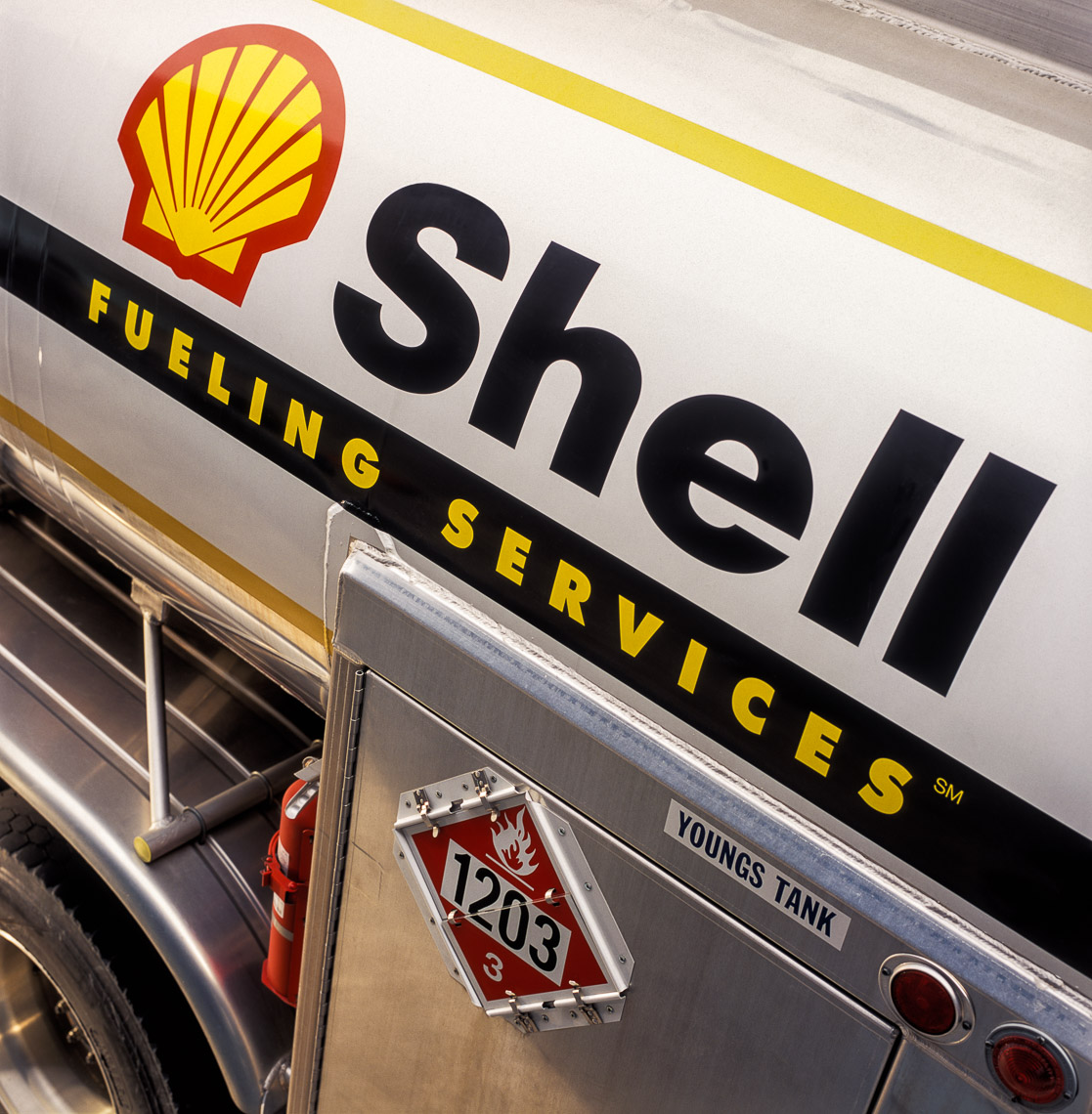 Shell Fuel Delivery Truck