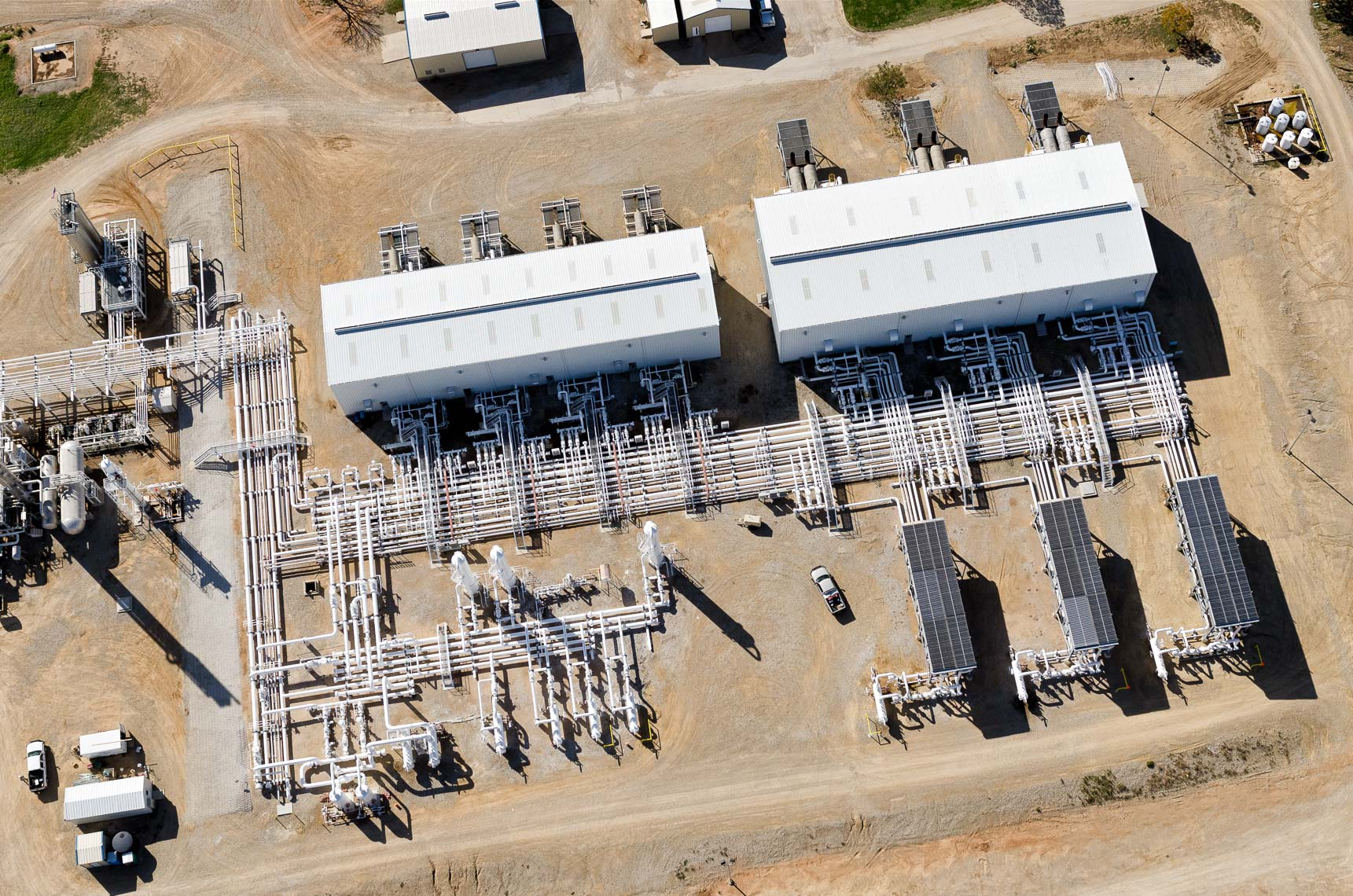 NorTex Worsham-Steed Facility - Aerial View