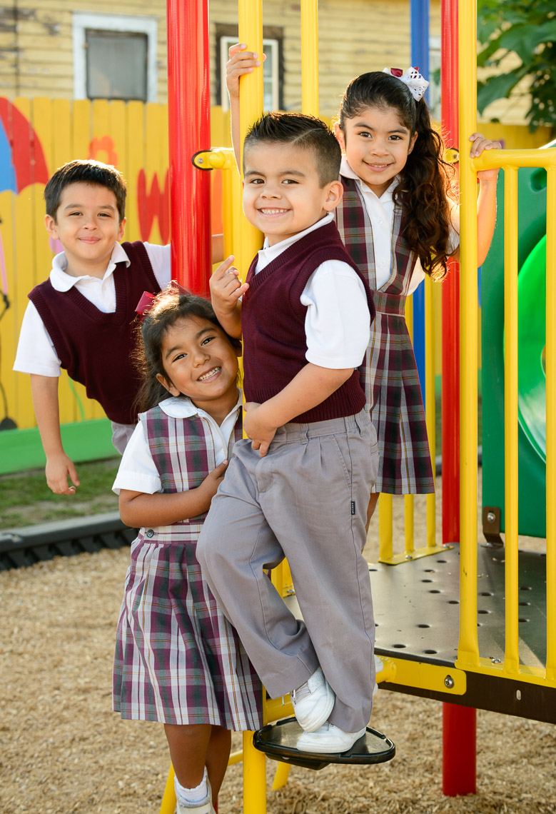 Archdiocese of Galveston-Houston - Students at Our Lady of Guadalupe Catholic School