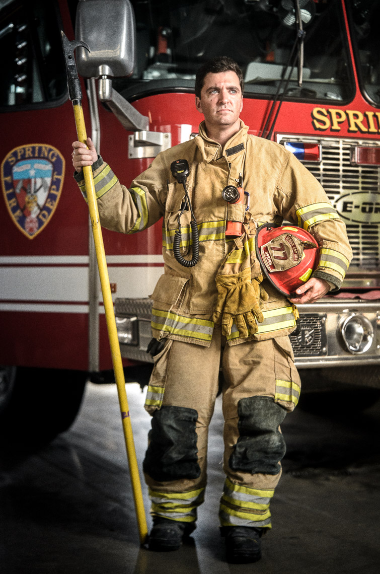 Shawn Babendure - Volunteer Firefighter